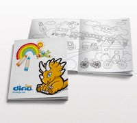 Add a coloring book - Dino Lingo Checkout
