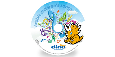 Arabic for kids Song CD - Dino Lingo Checkout