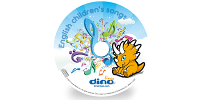 English for kids Song CD - Dino Lingo Checkout