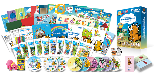 European Portuguese for kids Premium Set