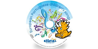 European Portuguese for kids Song CD - Dino Lingo Checkout