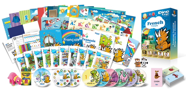 French for kids Premium Set