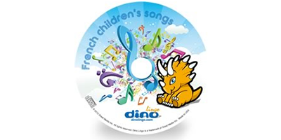 French for kids Song CD - Dino Lingo Checkout