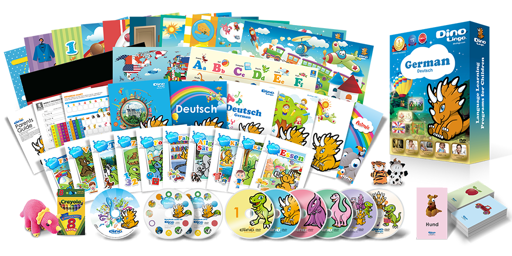 German for kids Premium Set