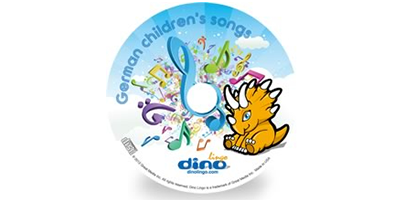 German for kids Song CD - Dino Lingo Checkout
