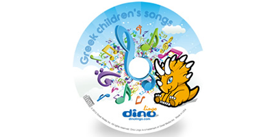 Greek for kids Song CD - Dino Lingo Checkout