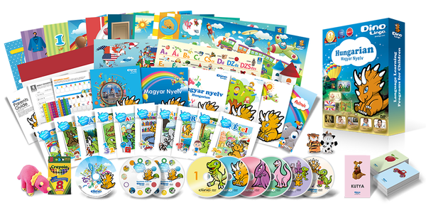 Hungarian for kids Premium Set