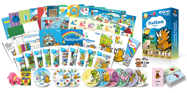 Italian for kids Premium Set