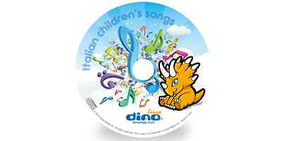 Italian for kids Song CD - Dino Lingo Checkout