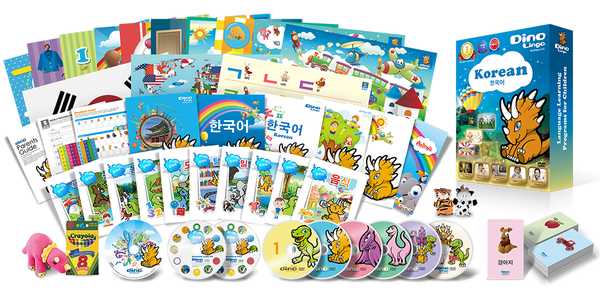 Korean for kids Premium Set
