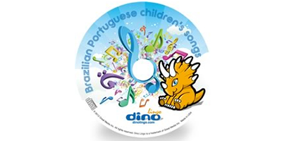 Portuguese for kids Song CD - Dino Lingo Checkout