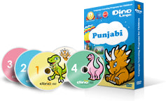 Punjabi for kids DVD set