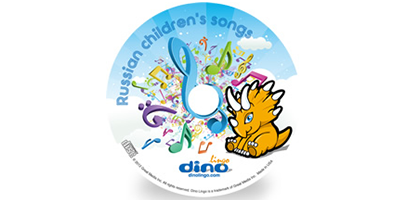 Russian for kids Song CD - Dino Lingo Checkout
