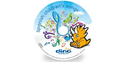 Spanish for kids Song CD - Dino Lingo Checkout