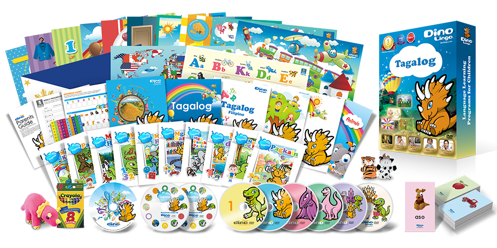 Tagalog for kids Premium Set