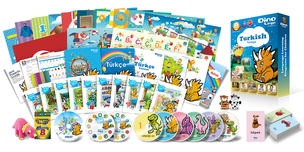 Turkish for kids Premium Set