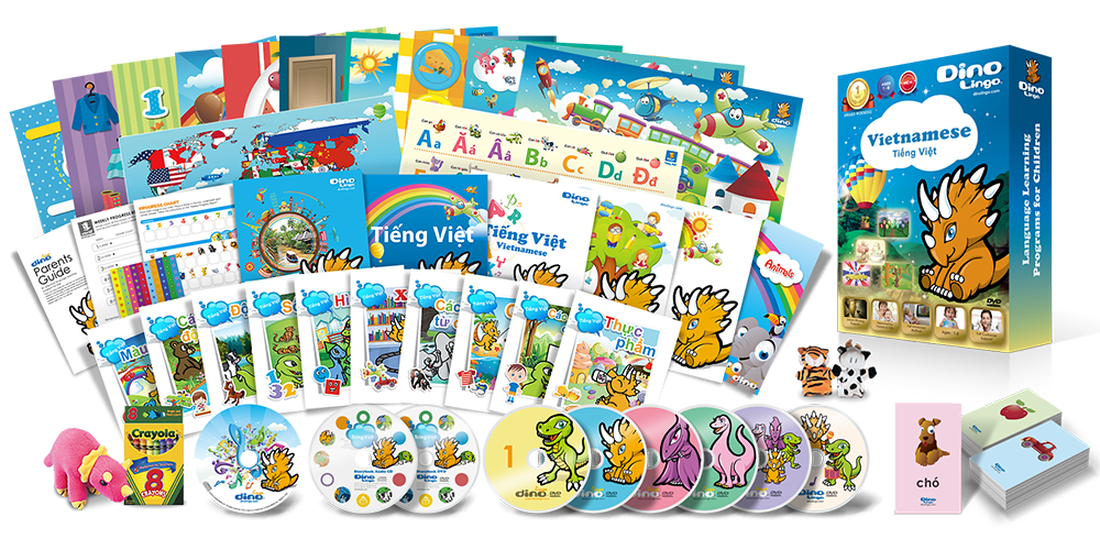 Vietnamese for kids Premium Set