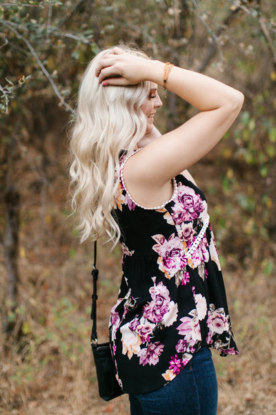 All The Pretty Flowers Sleeveless Top