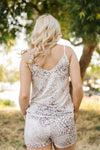 A Hint Of Tinsel Leopard Tank - Thongin' It Boutique