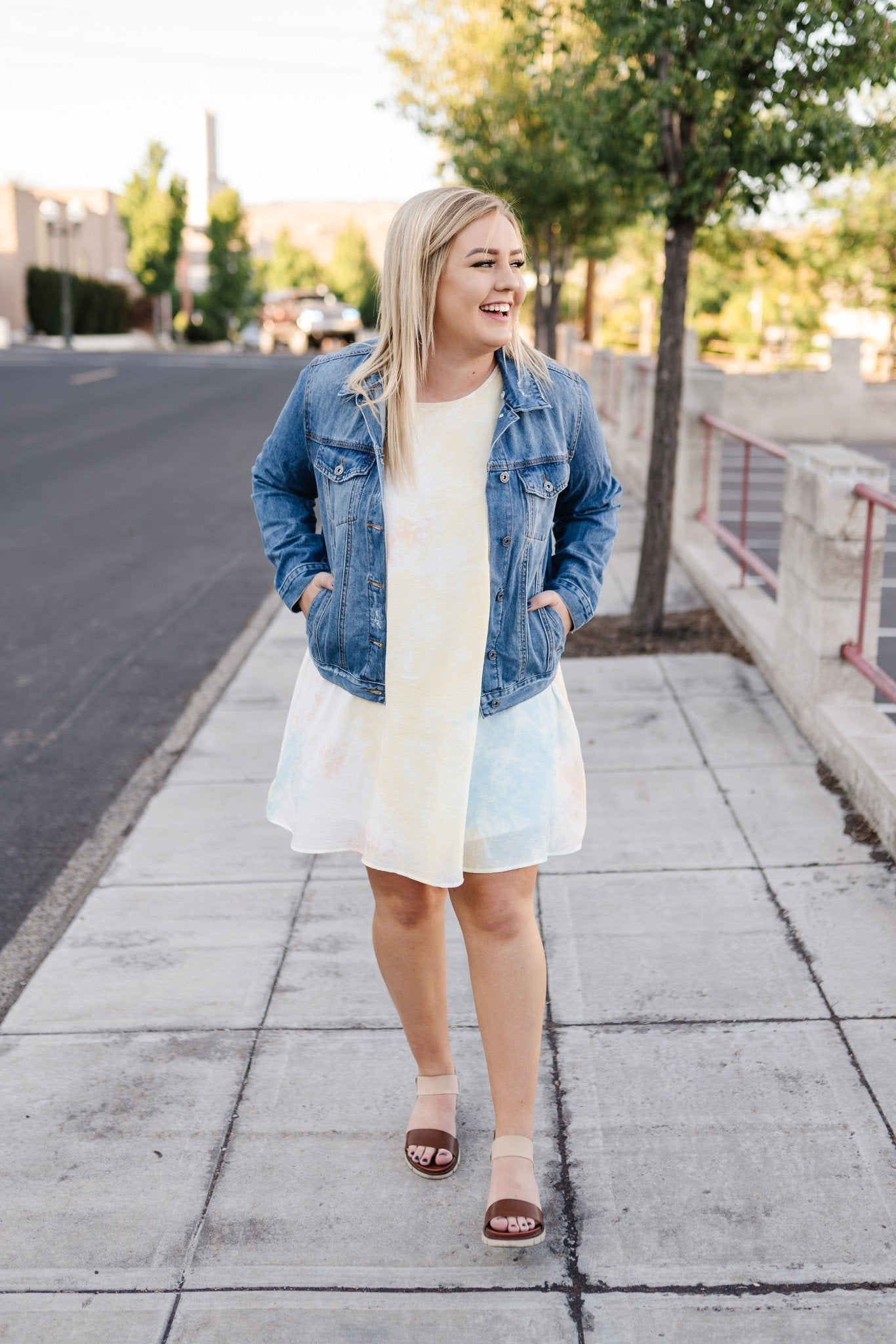 Sherbert Skies Summer Dress - Thongin' It Boutique