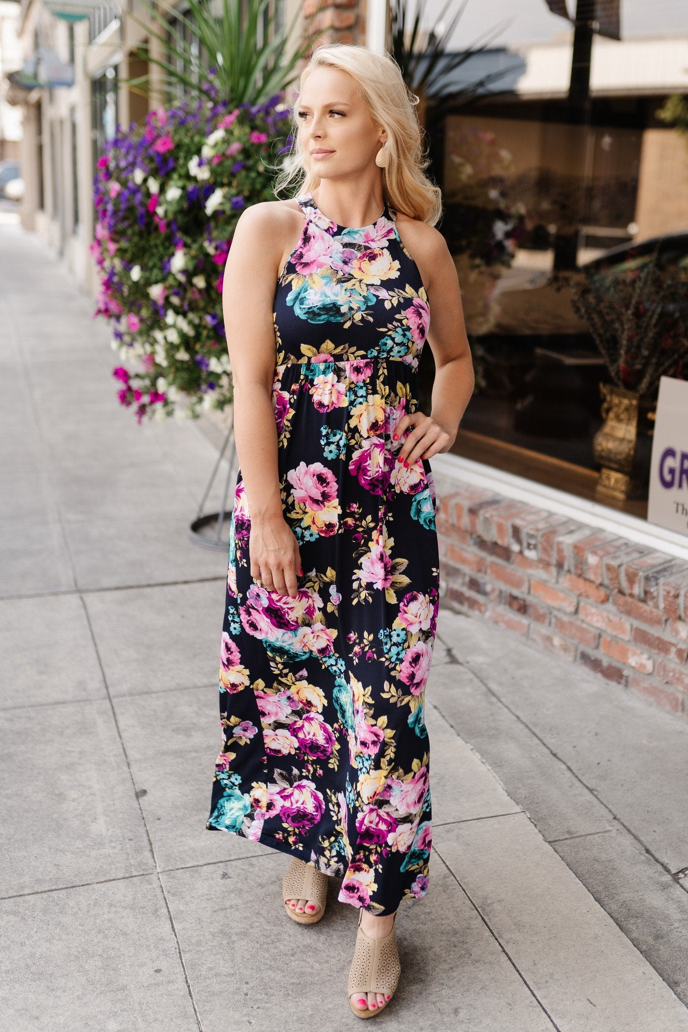 Pocket Full of Posies Maxi Dress