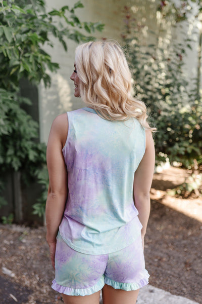 Pixie Dust Tie Dye Tank - Thongin' It Boutique