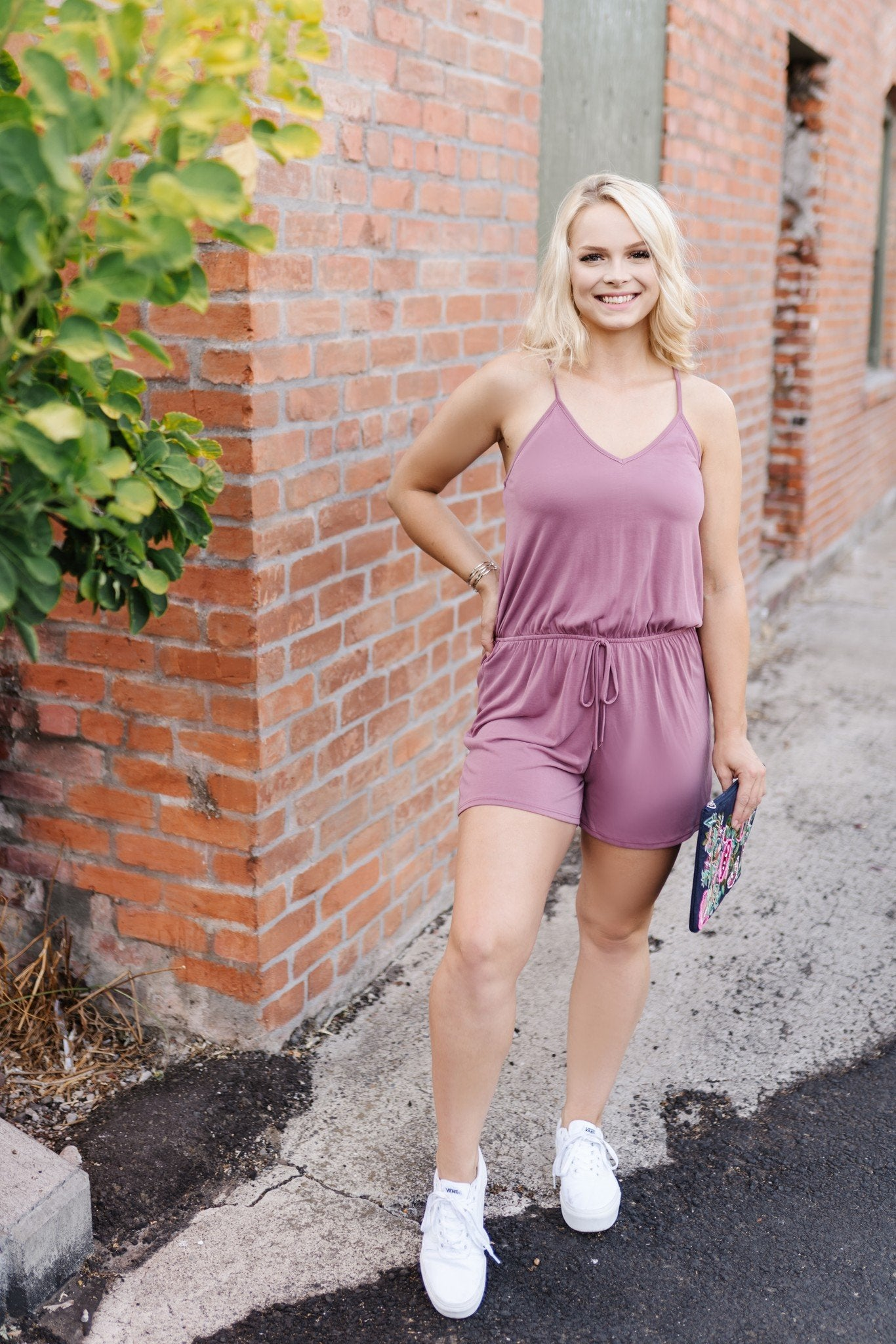 Mainstream Mauve Romper