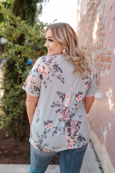 Tea Garden Top - Thongin' It Boutique