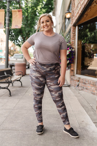 Everybody's Favorite Camo Leggings - Thongin' It Boutique