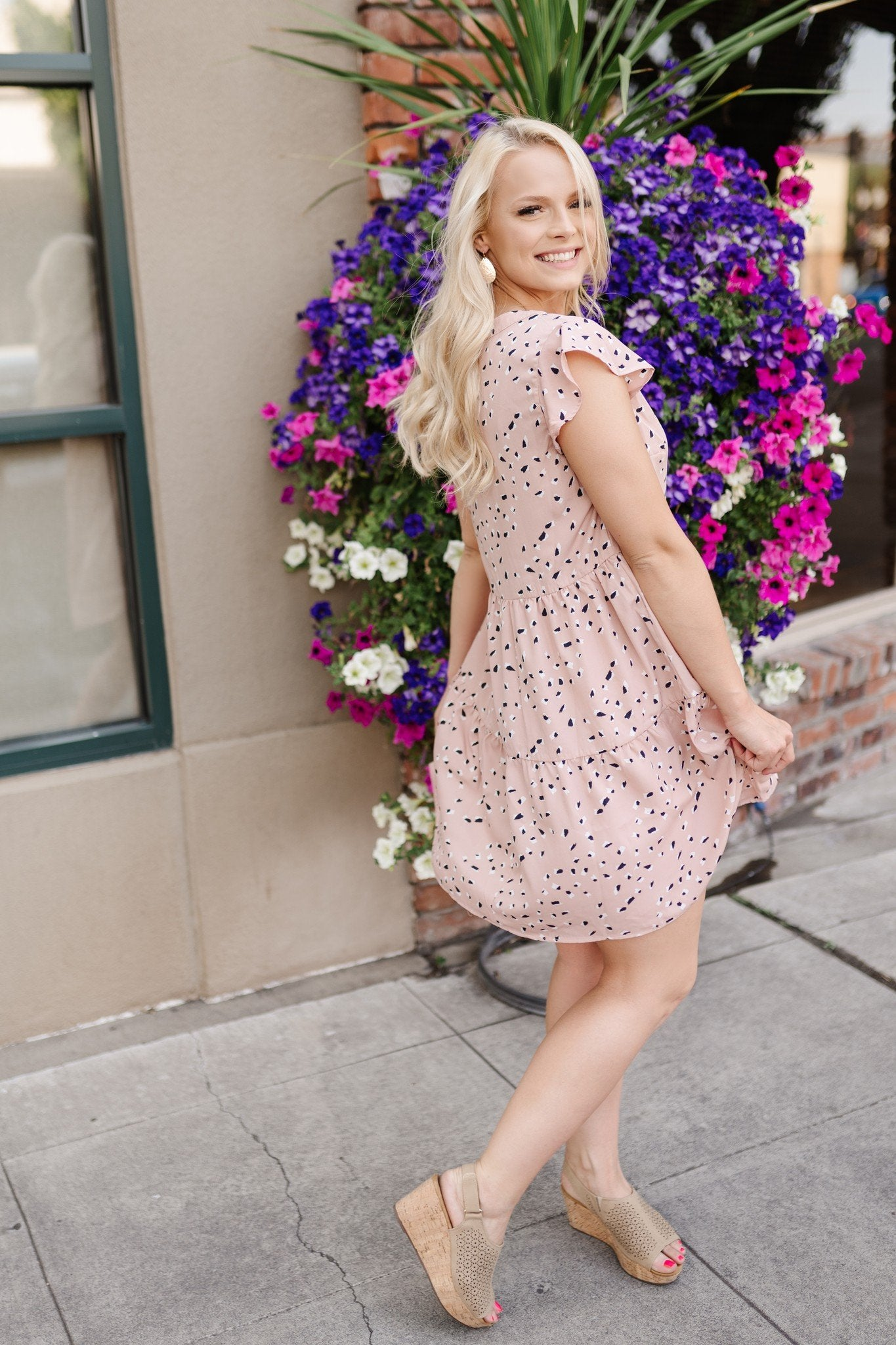 Make Me Blush Dress - Thongin' It Boutique