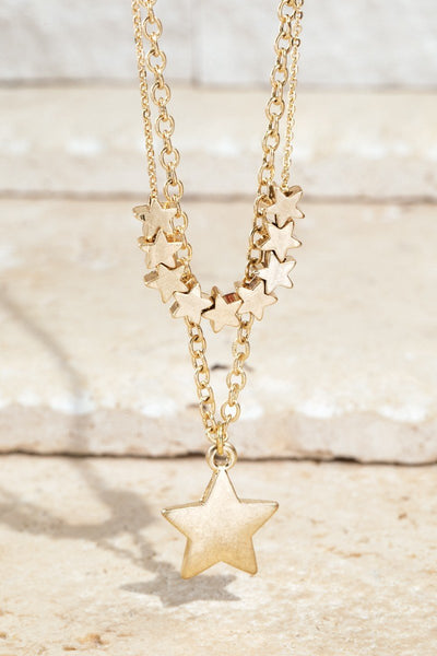Shooting Star Necklace - Thongin' It Boutique
