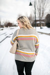 Sweet Treat Striped Sweater - Thongin' It Boutique