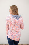 Spring Floral Hoodie - Thongin' It Boutique