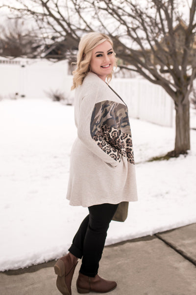 Falling For Trends Light Weight Cardigan - Thongin' It Boutique