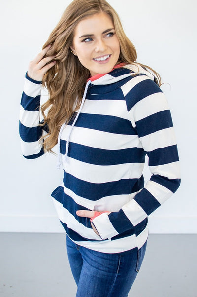 Bold Navy Stripes - Thongin' It Boutique