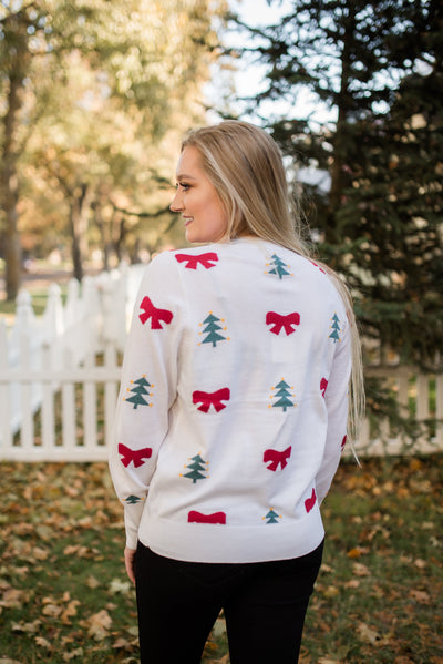 To Santa With Love & Bows Sweater - Thongin' It Boutique