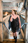 Sequins Of Events Lil' Black Dress - Thongin' It Boutique