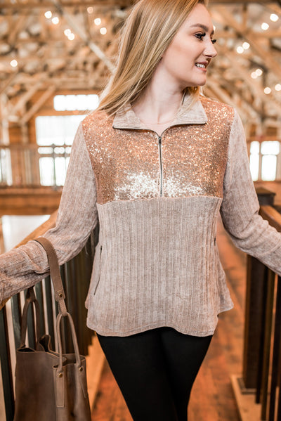 You're The Best Chenille Pullover - Thongin' It Boutique