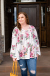 Hard Act To Follow Floral Top - Thongin' It Boutique