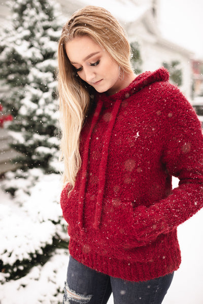 Keep Shining Hoodie In Winter Berry - Thongin' It Boutique