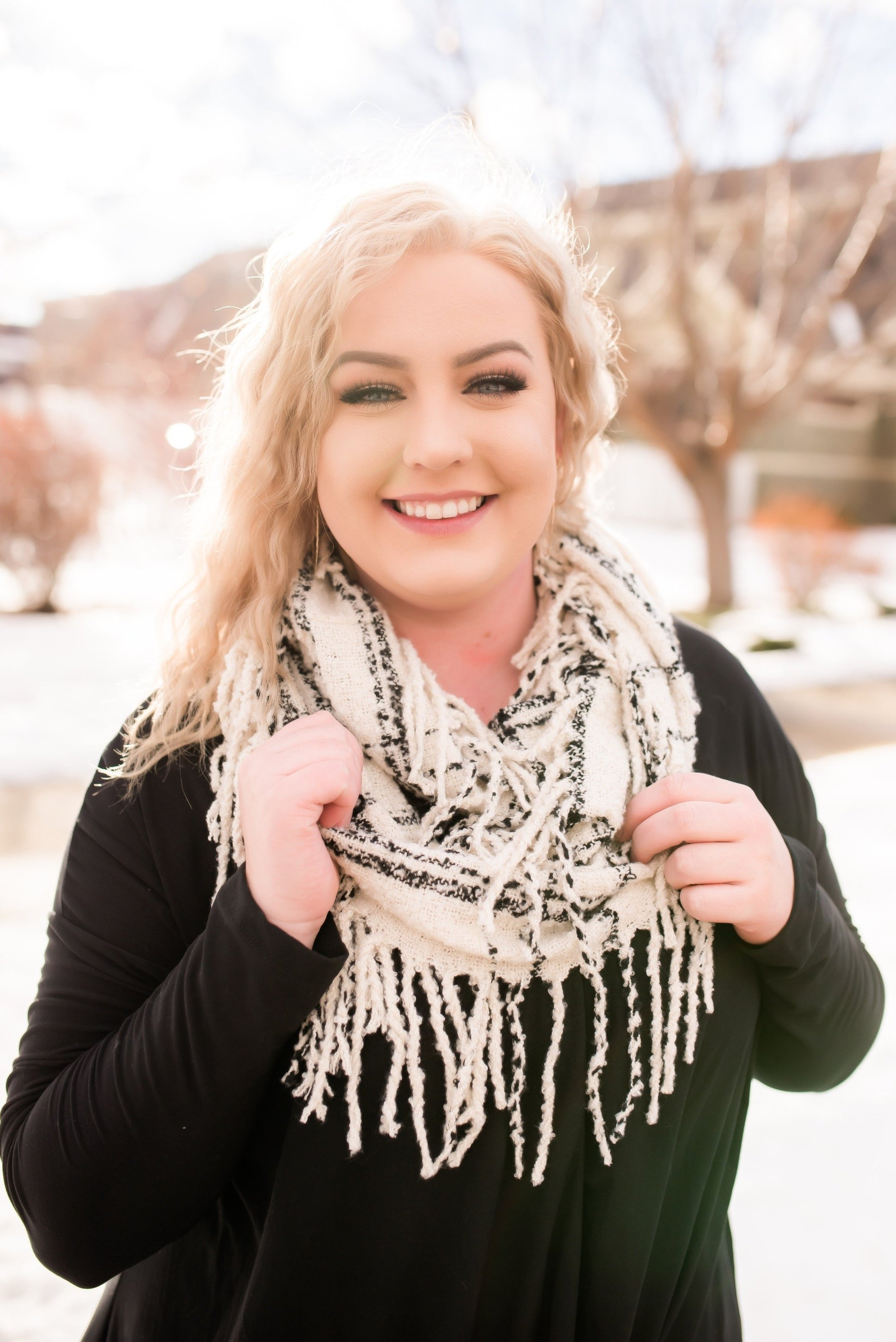 Infinity Times Infinity Scarf