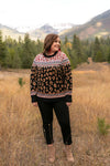 Geometric Jungle Sweater