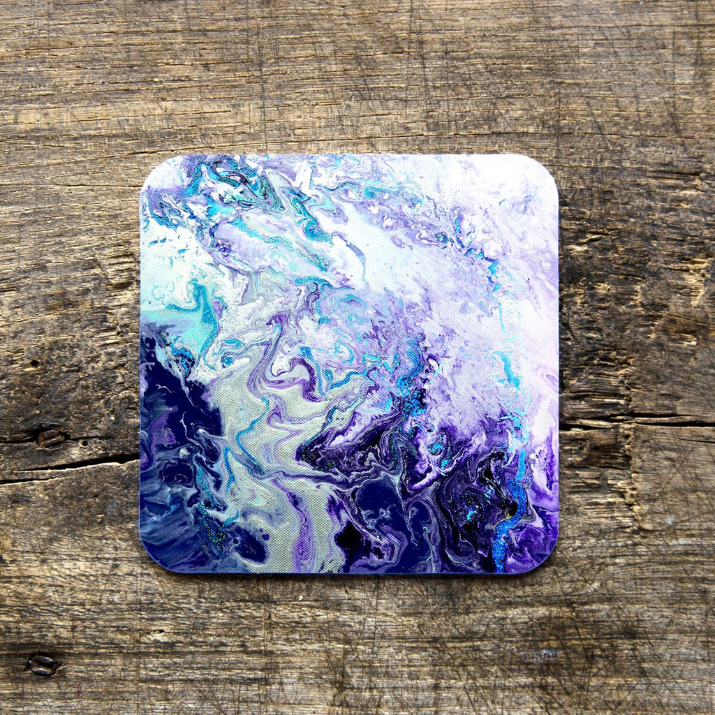 Purple Coasters - Louise Mead