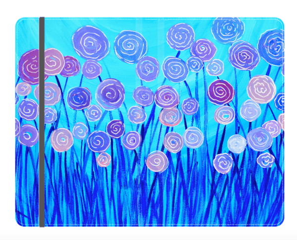 Blue & Lilac Flowers Journal - Louise Mead