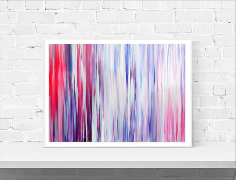 Candy Stripes Wall Art Print - Louise Mead
