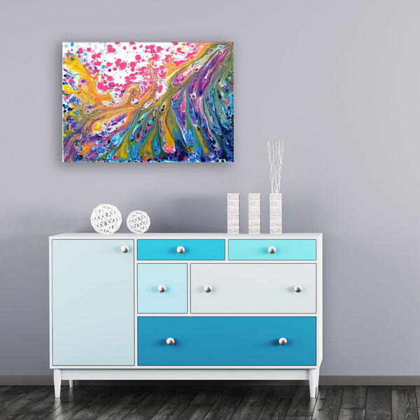 Excitement Original Abstract Painting