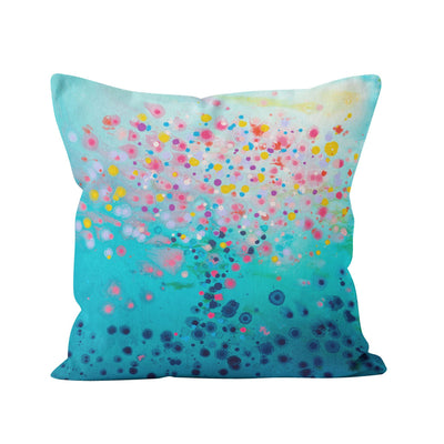 Far Away Square Pillow - Louise Mead