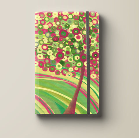 In Spring Pink & Green Tree Journal