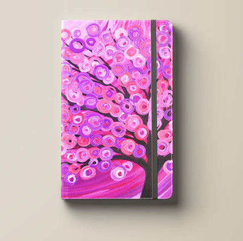Raspberry Pink Tree Journal
