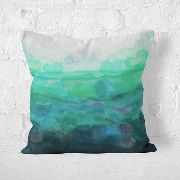 Teal 'Serenity' Cushion